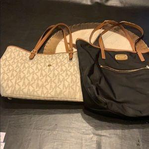 2 Michael Kors bags